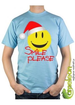 Koszulka Mikołajowa Smile
