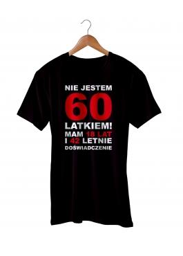 Koszulka nie jestem 60 latkiem