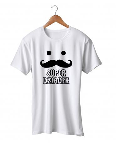 Koszulka dla Dziadka wąsy