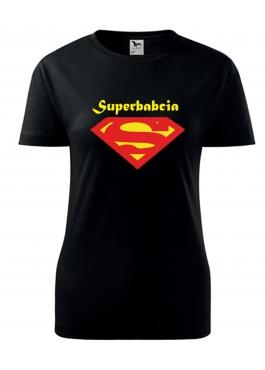 Koszulka Superbabcia