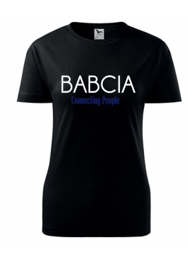 Koszulka Babcia connecting people