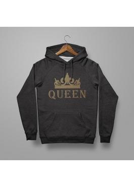 Bluza z kapturem damska Queen