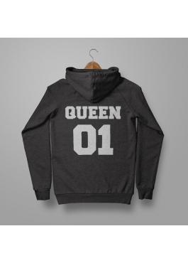 Bluza damska z kapturem Queen 01