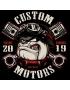 Koszulka motocyklowa Custom 10