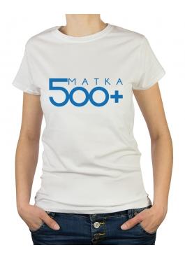 Koszulka damska 500+ matka