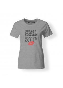 """Koszulka damska """"Koszulka Prawdziwej Zołzy"""""""